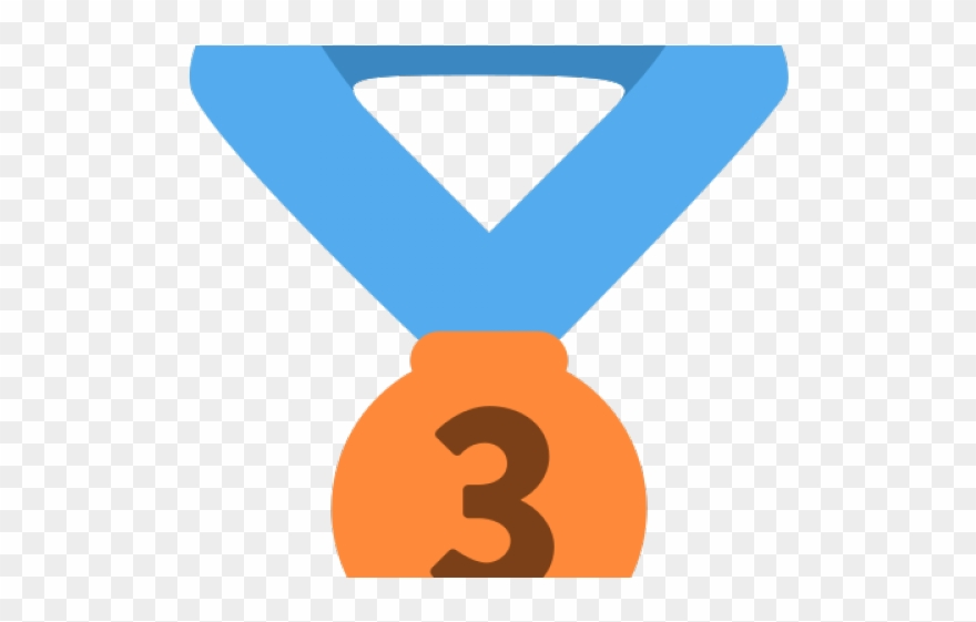 Bronze Clipart Third Place Medal.
