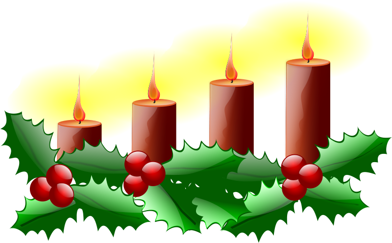 Free Clipart: Fourth Sunday of Advent.