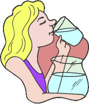 Thirsty Clipart.