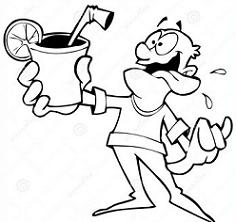 Free Thirsty People Clipart.