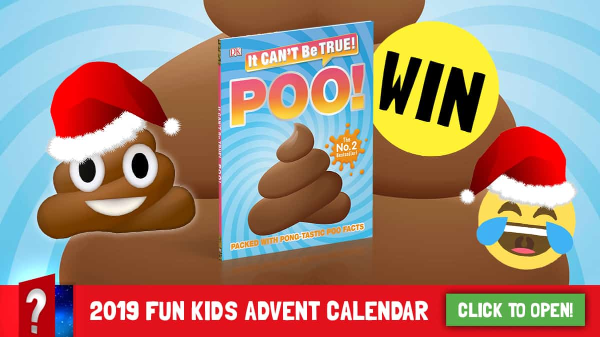 Win It Can\'t Be True! Poo! and a bundle of goodies from DK.