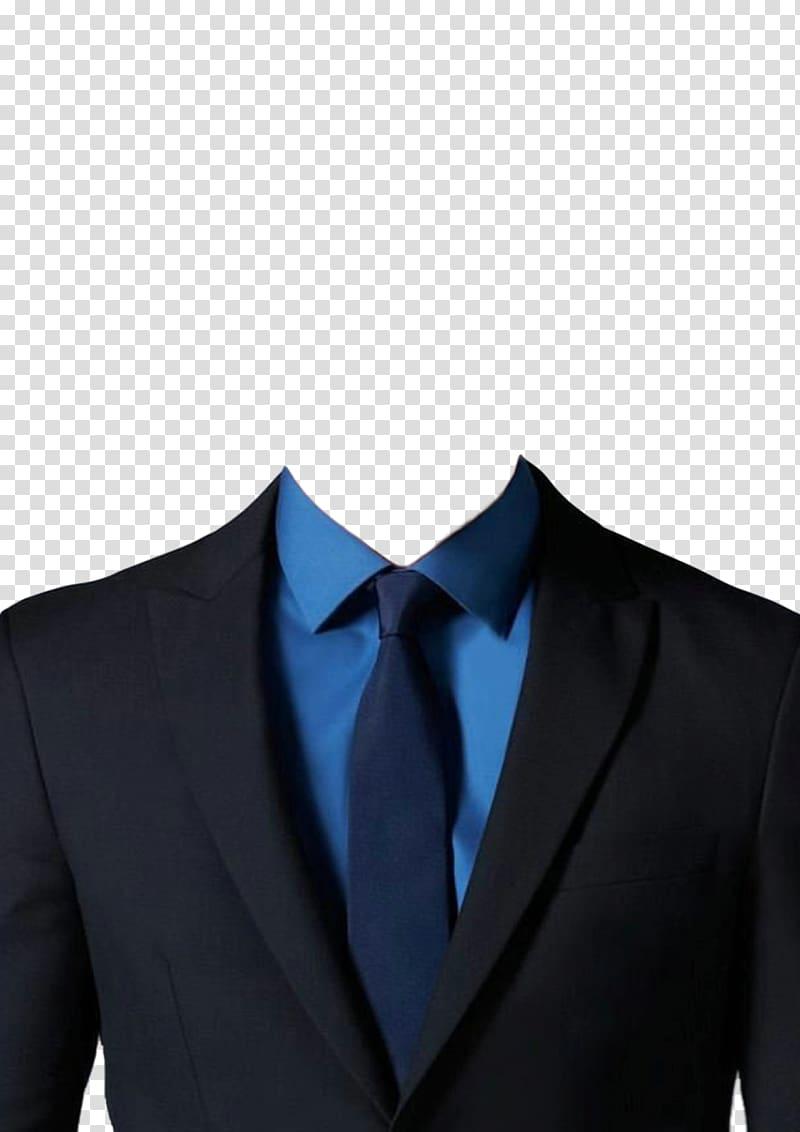 Men\'s black suit, Tuxedo Suit Clothing, suit transparent.