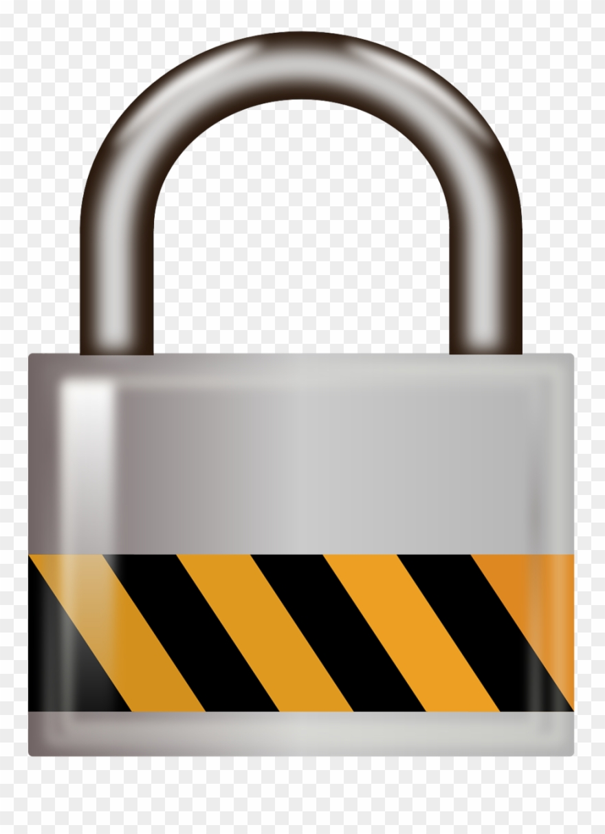 Locked Door Clipart Locked Padlock.