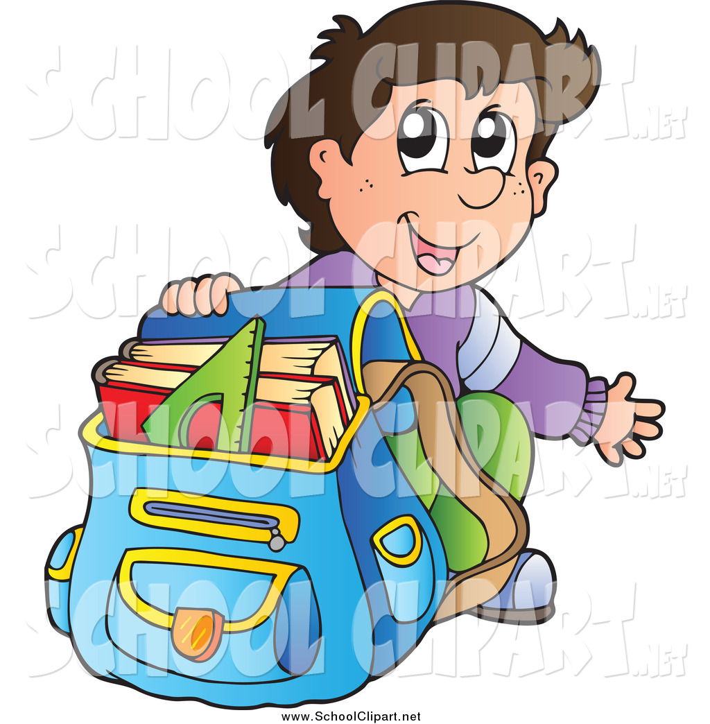 Pack school bag clipart 12 » Clipart Station.