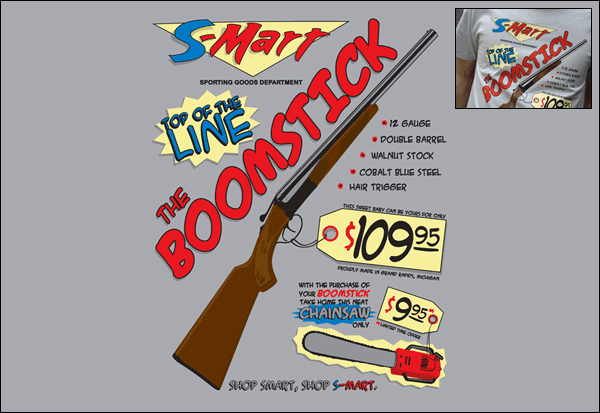 Awesome Shirt: This is my BOOMStick!.