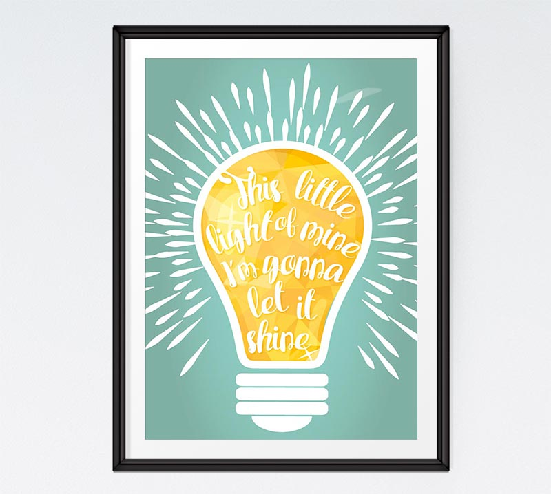 This little light of mine I\'m gonna let it shine.