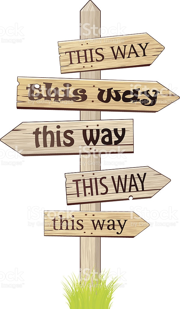This Way Clipart.