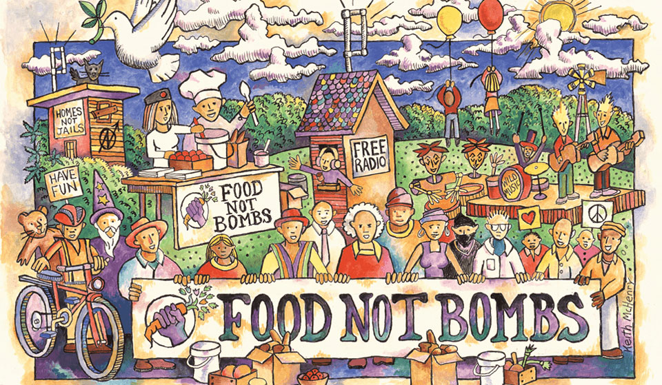This week in history: Food Not Bombs volunteers arrested in.