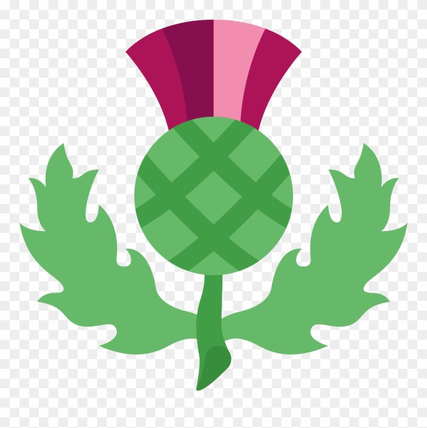 Scottish Thistle Icon.