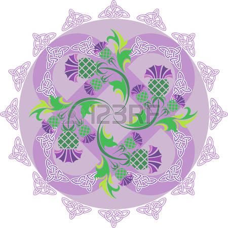 961 Thistle Stock Vector Illustration And Royalty Free Thistle Clipart.