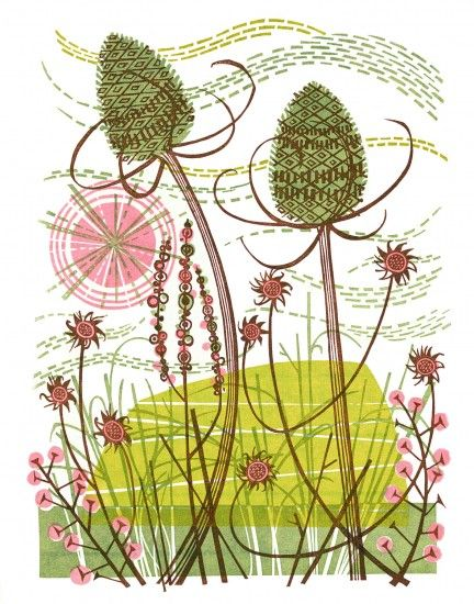 Thistle fluff clipart #2