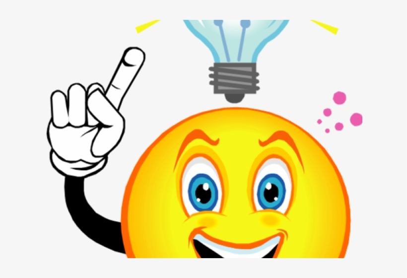 Light Bulb Clipart Thought.