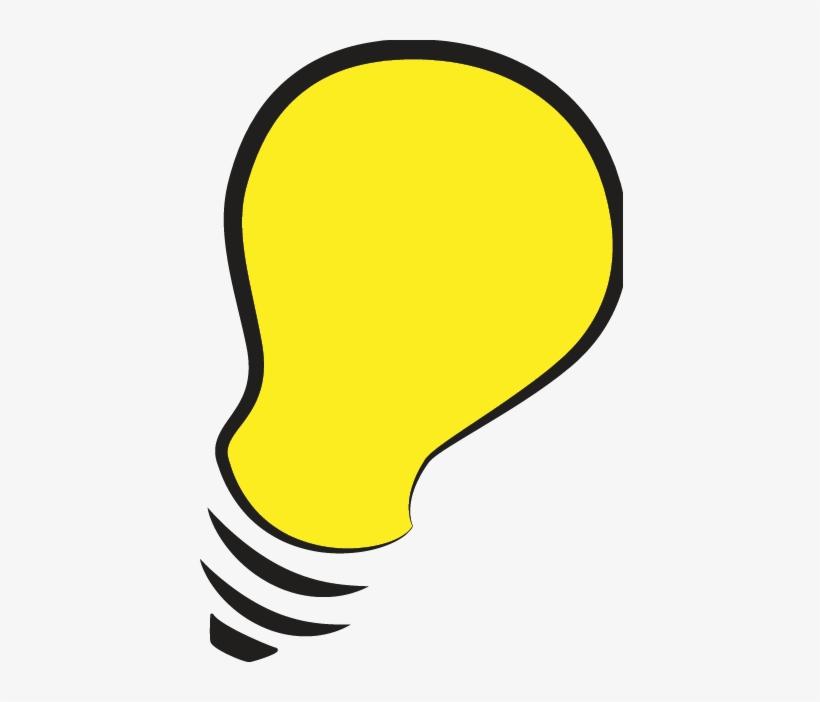 Thinking Light Bulb Clip Art Sketch Idea.