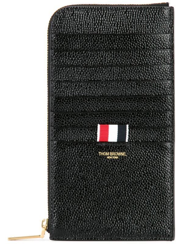 Thom Browne Logo Patched Long Wallet.