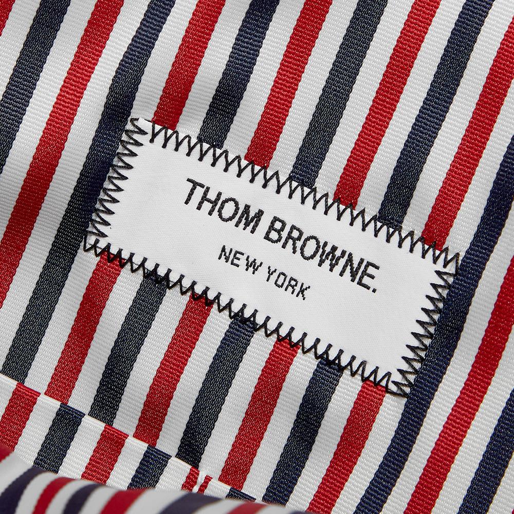 Thom Browne Patch Logo Tote Bag.