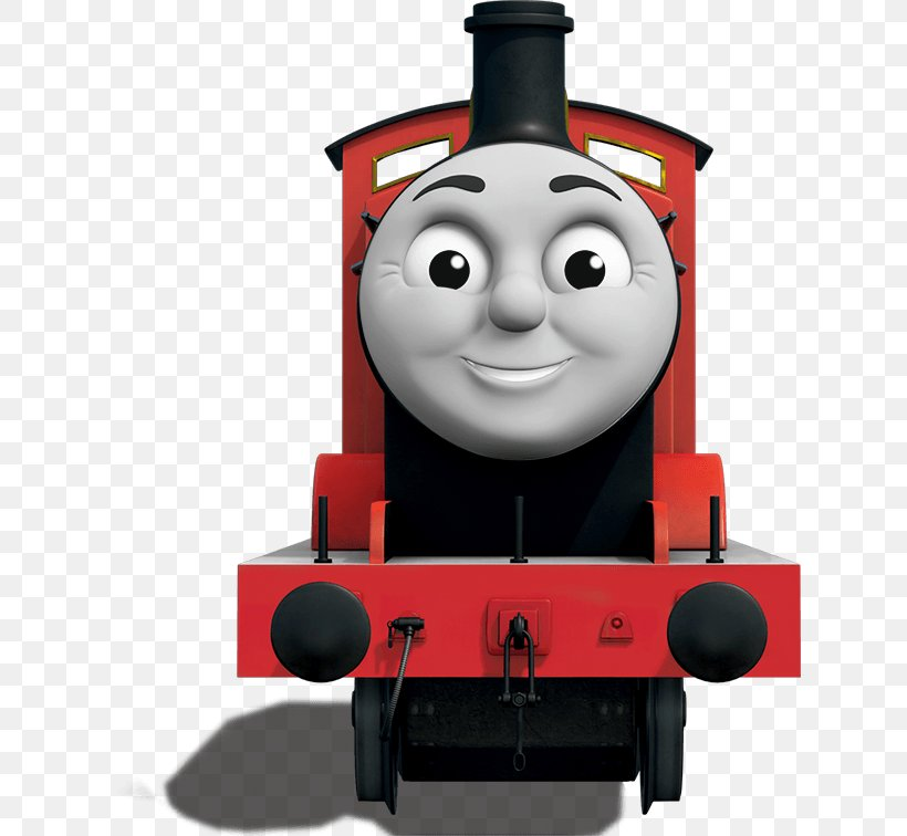 Thomas & Friends James The Red Engine Sodor Tank Locomotive.