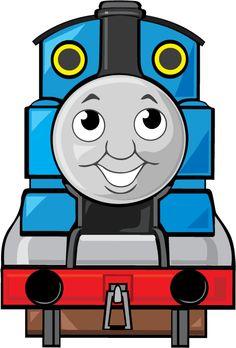 Thomas The Tank Engine Clipart.
