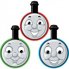 Gordon Thomas The Train Clipart.