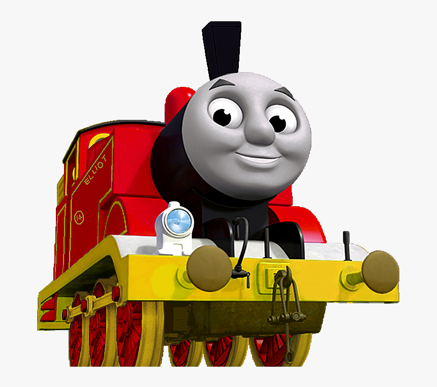 Clipart Of James The Tank Engine.