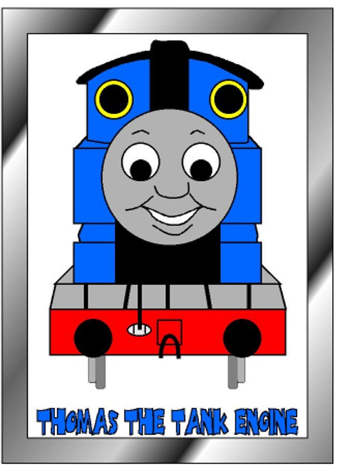 Thomas tank engine Clip Art.