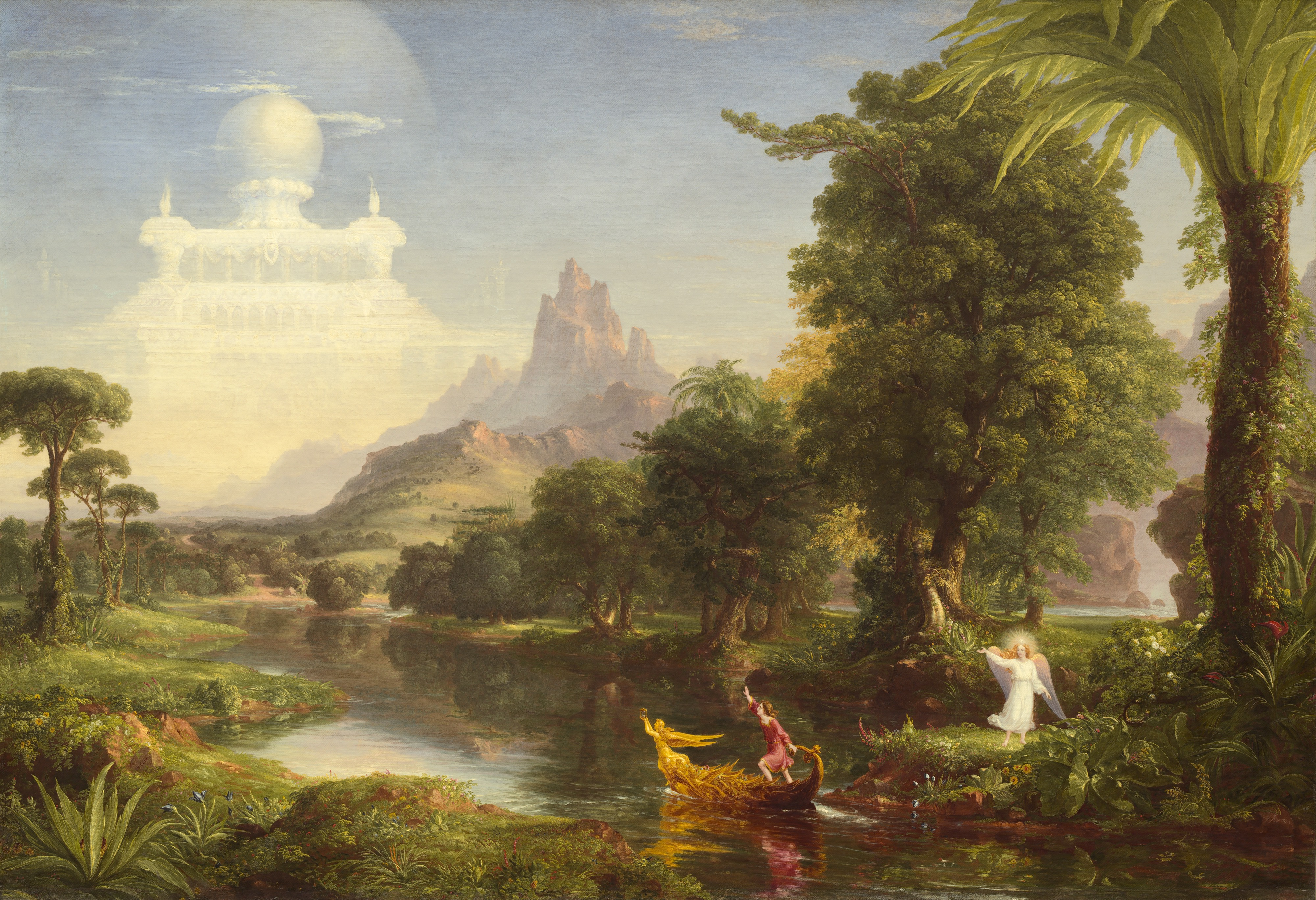 The Voyage of Life: Youth (Thomas Cole, 1842). Featured on.