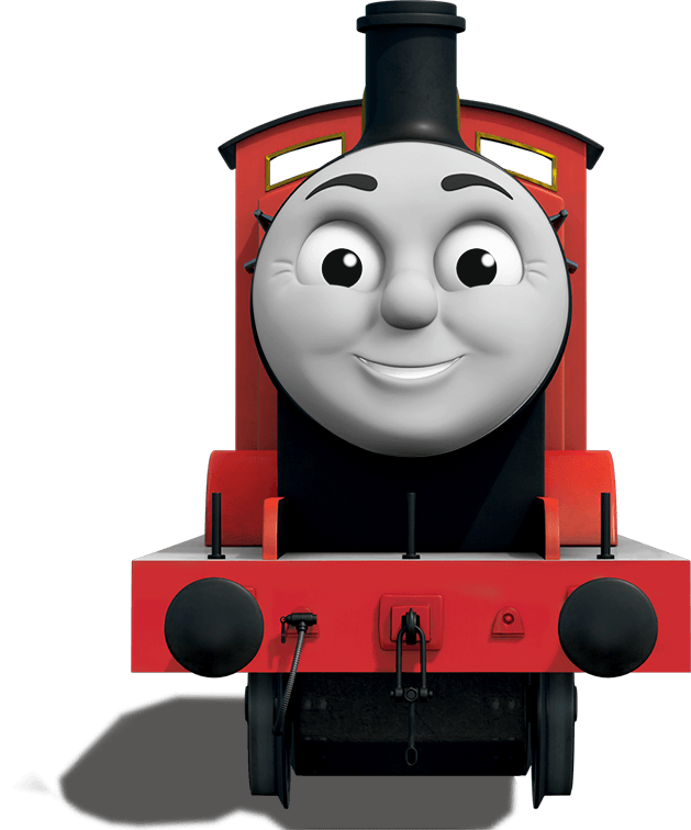 Thomas And Friends James Clipart.