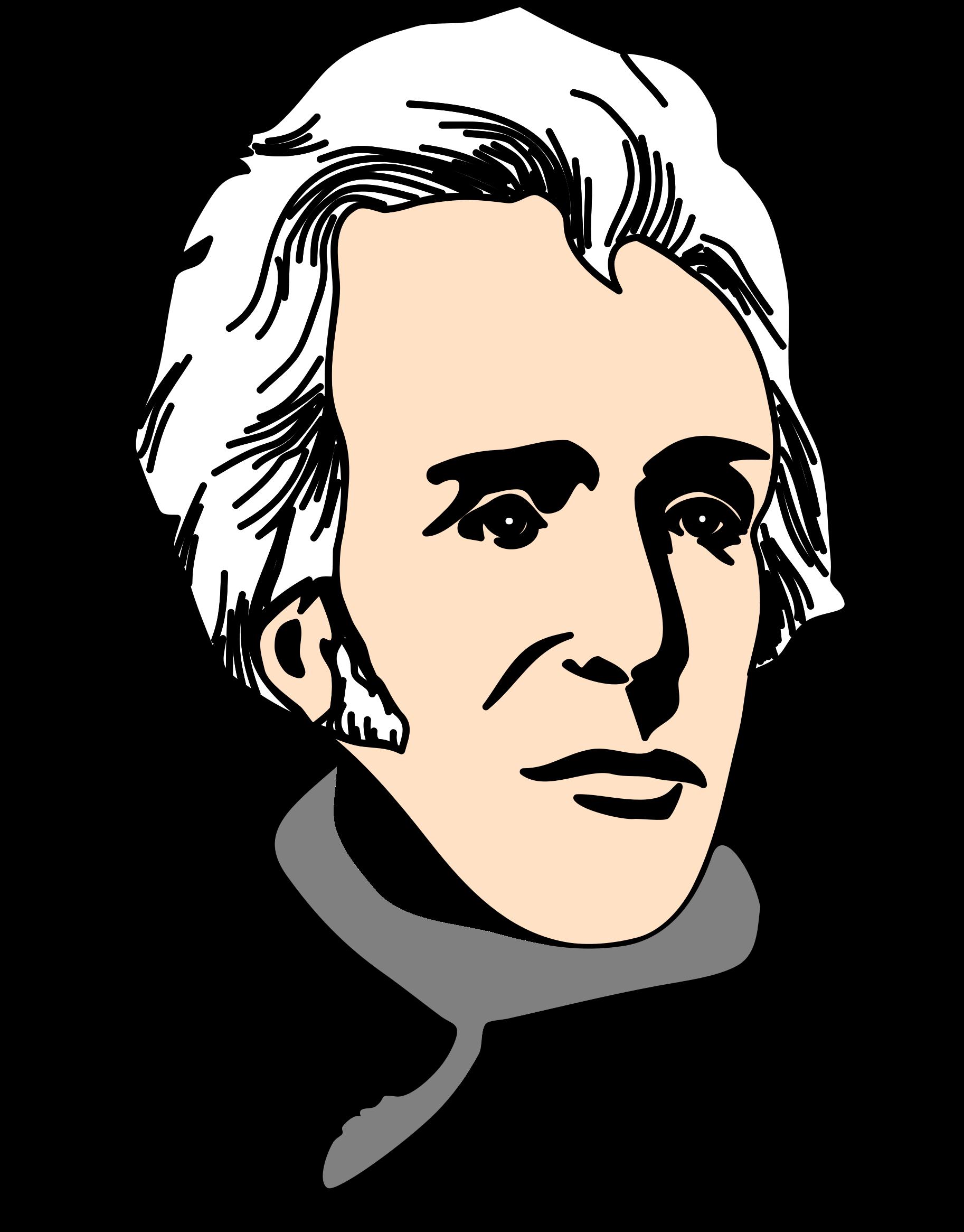 HD Andrew Jackson Clipart.