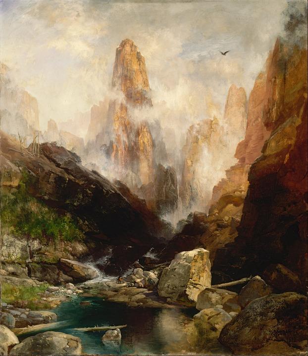 Painted, Rocks.