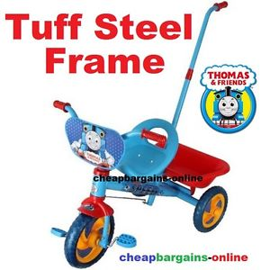 TODDLERS TRIKE KIDS RIDE ON TRICYCLE THOMAS & FRIENDS TUFF.