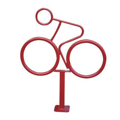 Steel bike rack / stainless steel / original design.