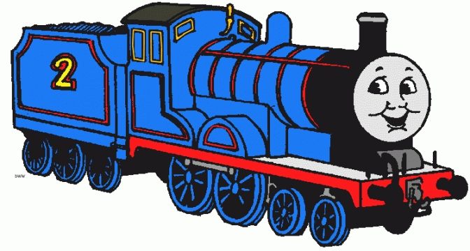 Thomas The Train Clip Art.