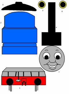 thomas the tank engine, free printable.