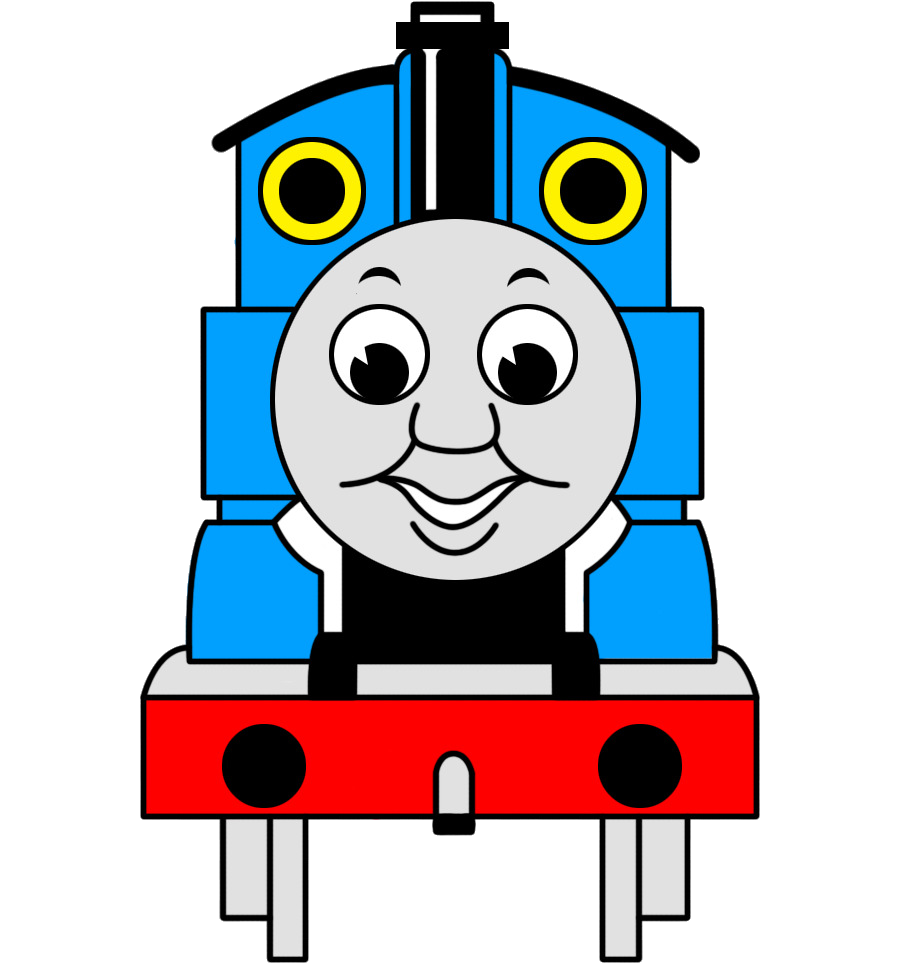 Thomas The Train Line Font Transparent Image Clipart Free.