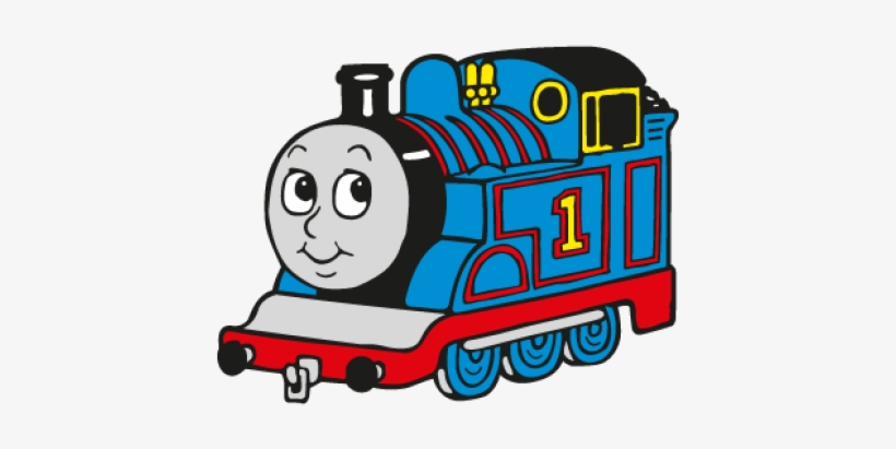 Thomas The Tank Engine Logo Vector, Ai Pdf,.