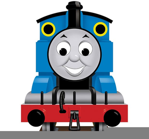 Thomas The Tank Clipart Image.