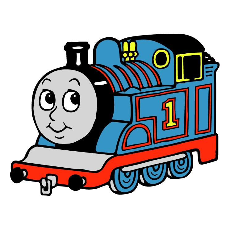 Thomas Train Side View Clipart.