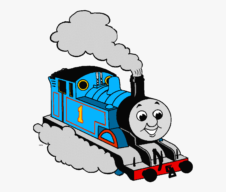 Train Clipart Thomas.