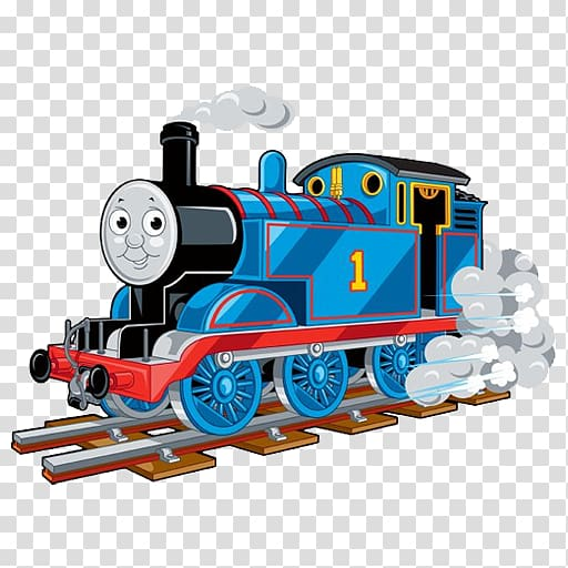 Thomas the train illustration, Thomas Train Tank locomotive.