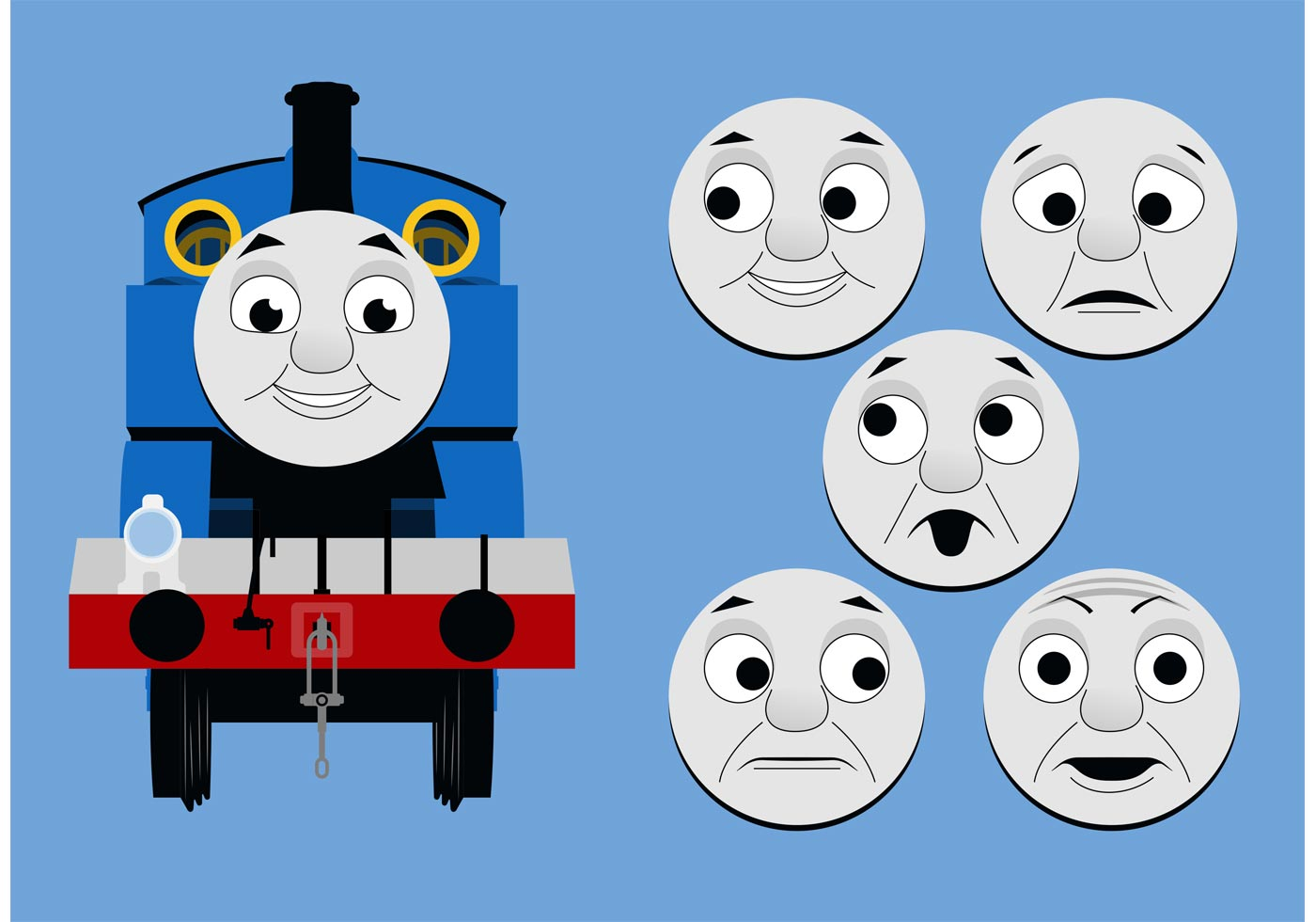 Free Thomas The Train Clipart at GetDrawings.com.
