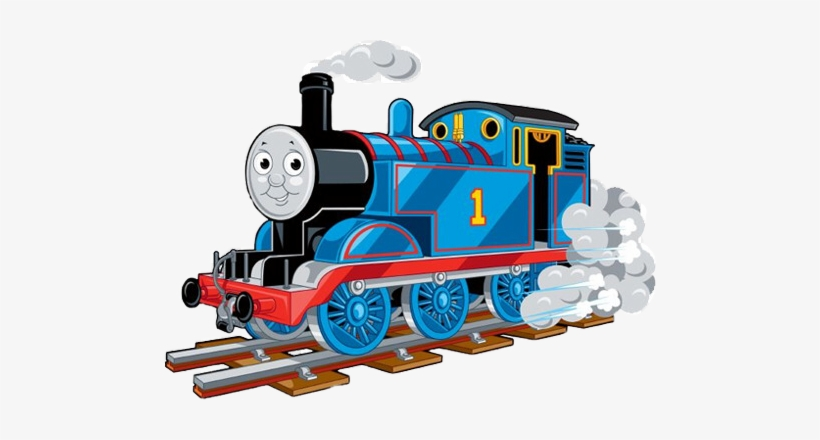 Clipart Thomas The Train PNG Image.