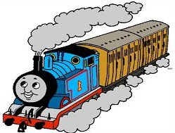 clipart thomas train.