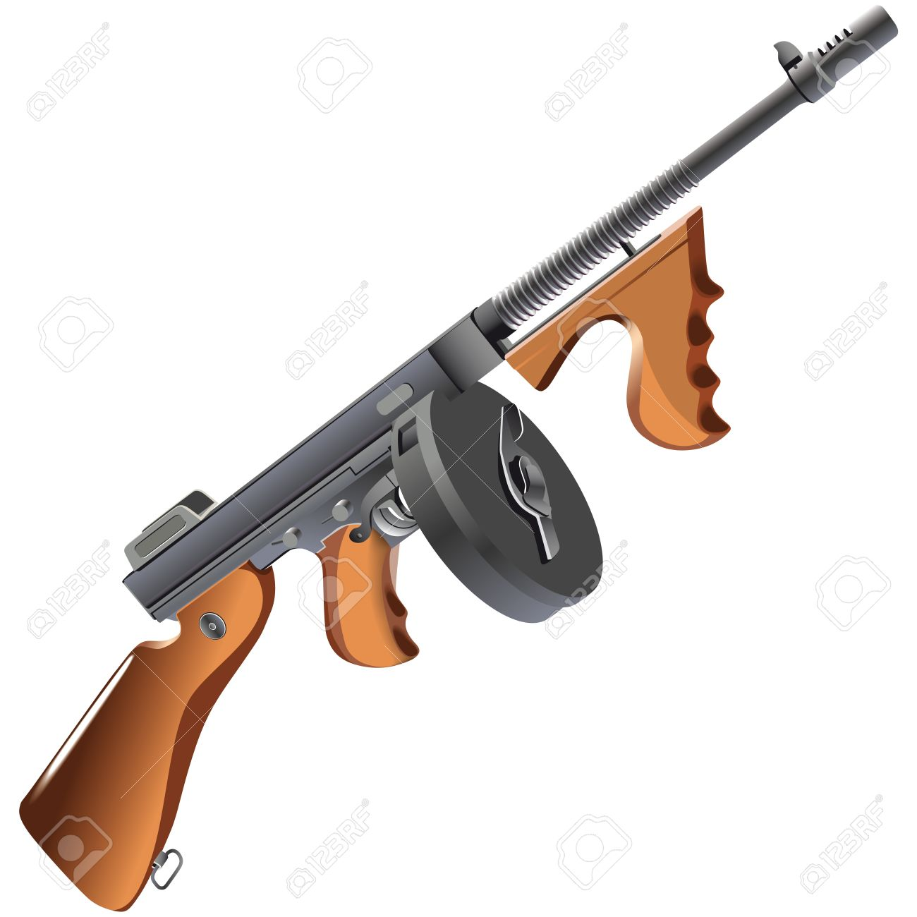 266 Tommy Gun Cliparts, Stock Vector And Royalty Free Tommy Gun.
