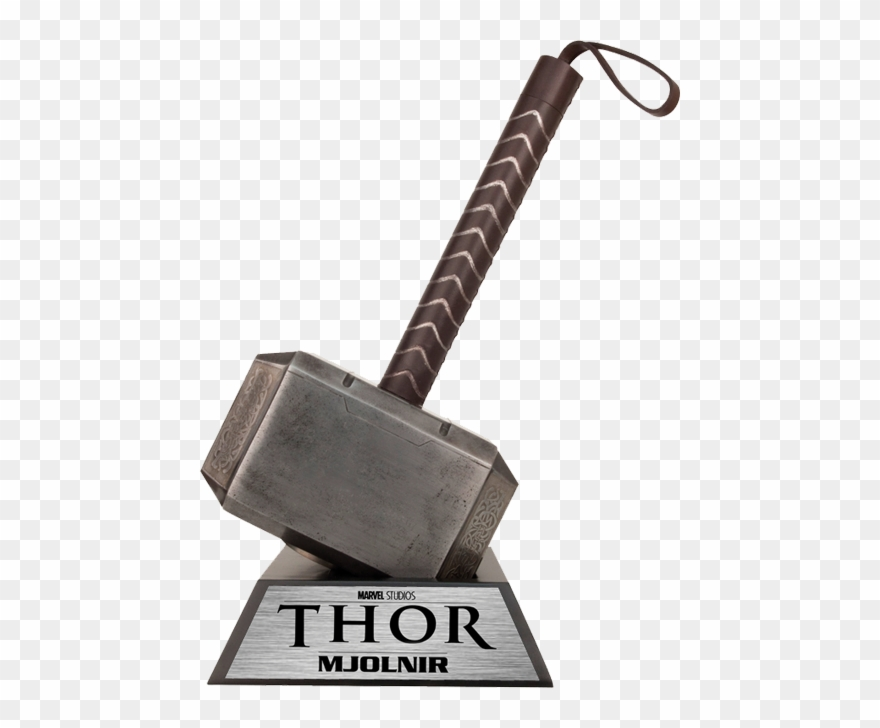 Download Free png Thor Hammer Clipart Marvel.