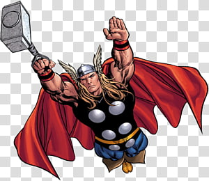 Thor: God Of Thunder transparent background PNG cliparts.