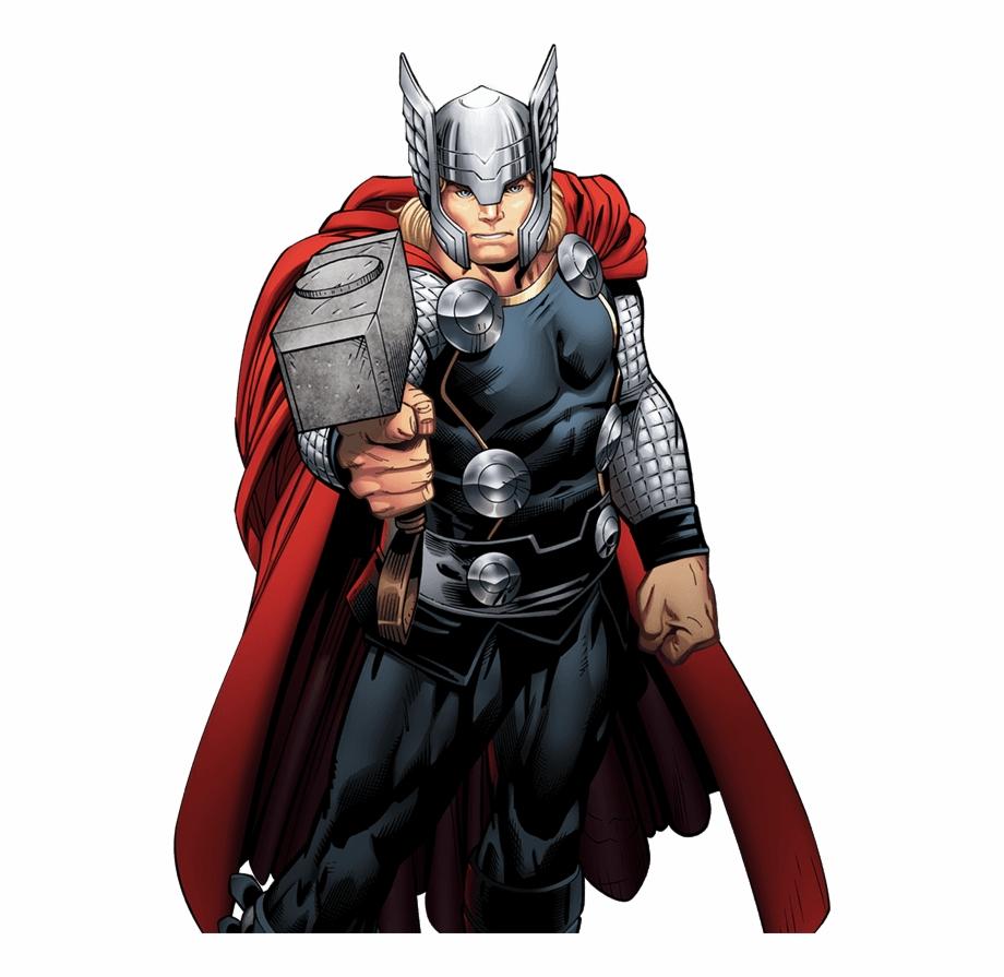 Thor Marvel Avengers Comic.