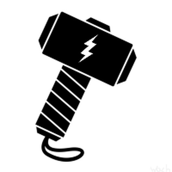 Thor Hammer Logo Png & Free Thor Hammer Logo.png Transparent.