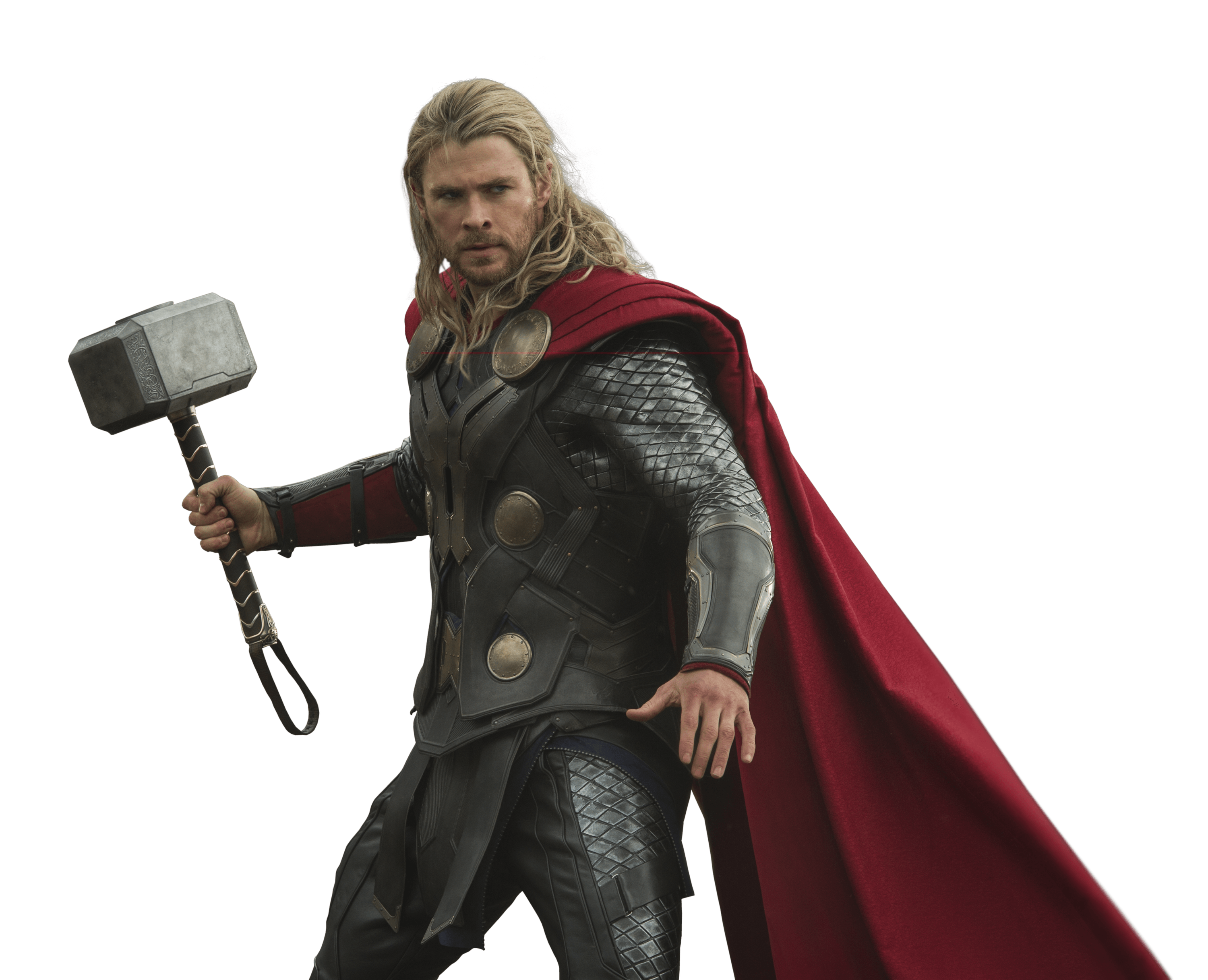 Thor Fighting transparent PNG.