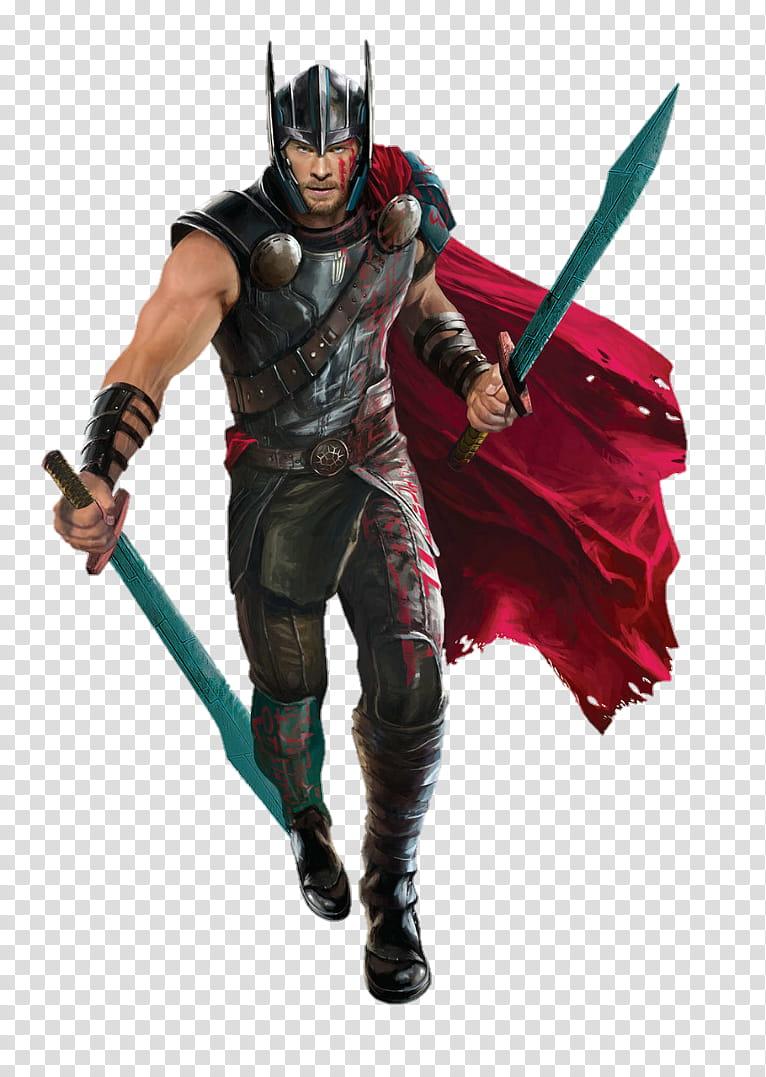 Thor Ragnarok Thor, Thor illustration transparent background.