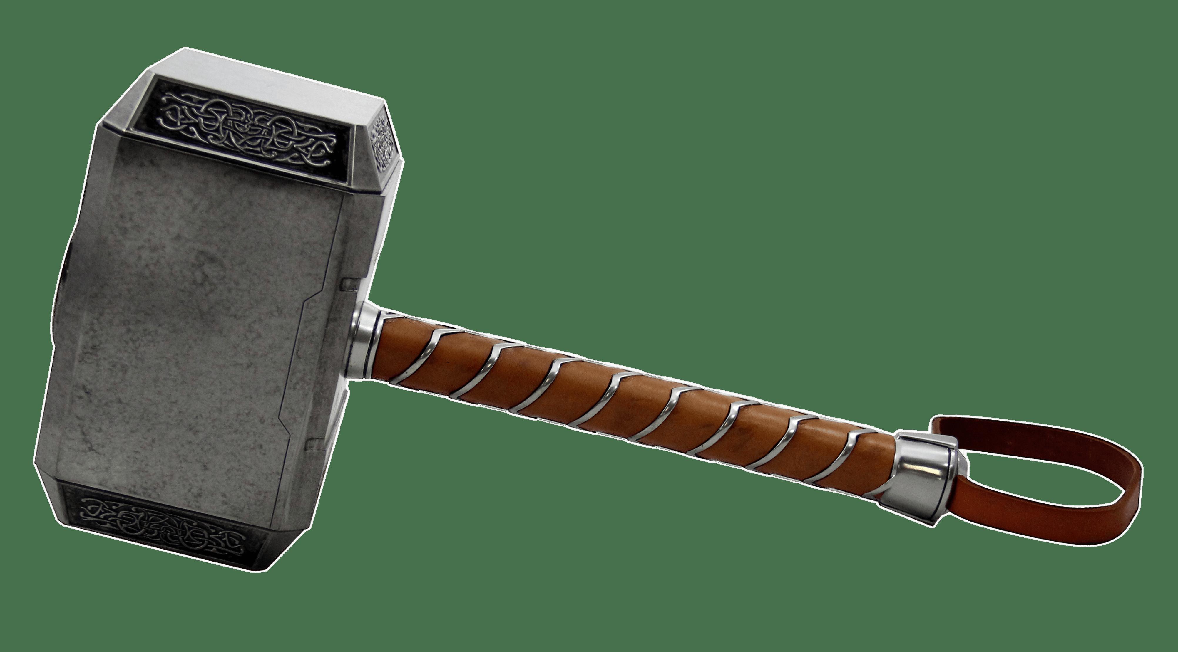 Thor Hammer transparent PNG.