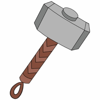 Download High Quality hammer clipart thor Transparent PNG.
